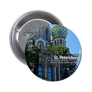 St. Petersburg, Church of the Savior on Blood Button