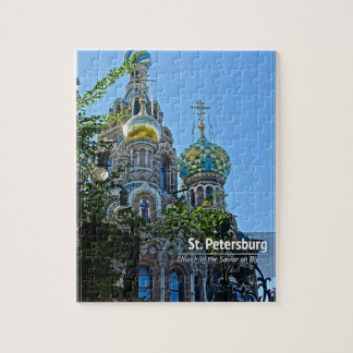 St. Petersburg, Church of the Savior on Blood Jigsaw Puzzle