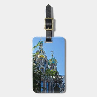 St. Petersburg, Church of the Savior on Blood Luggage Tag