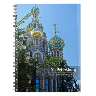 St. Petersburg, Church of the Savior on Blood Notebook