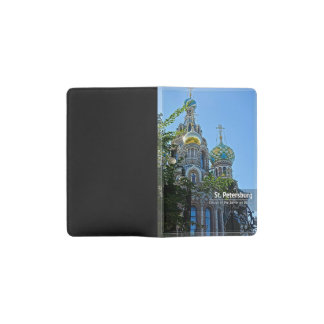St. Petersburg, Church of the Savior on Blood Pocket Moleskine Notebook