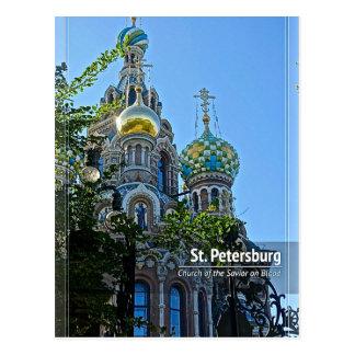 St. Petersburg, Church of the Savior on Blood Postcard