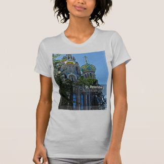 St. Petersburg, Church of the Savior on Blood T-Shirt