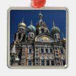 St Petersburg church, Russia Christmas Ornament