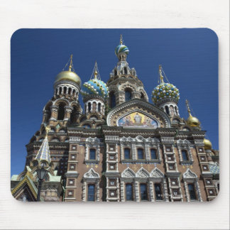 St Petersburg church, Russia Mouse Pad