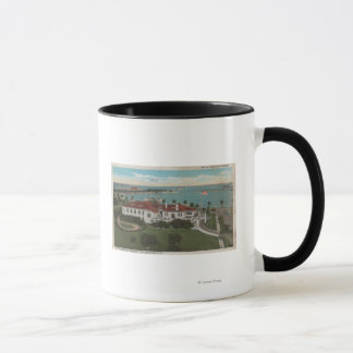 St. Petersburg, FL - Aerial of Yacht Club & Mug