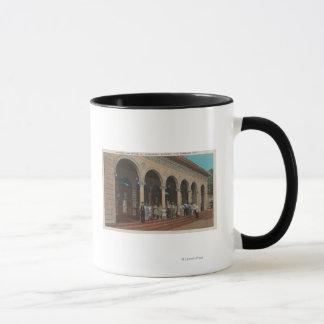 St. Petersburg, FL - Exterior View of Post Mug