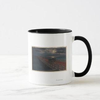 St. Petersburg, FL - Moonlit View of Gandy Mug
