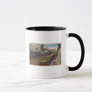St. Petersburg, FL - View of Central Ave w/ Mug