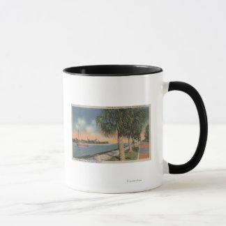 St. Petersburg, FL - View of Coffee Pot Mug