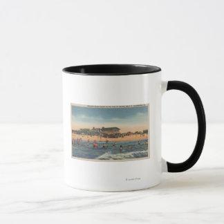 St. Petersburg, FL - View of Treasure Island Mug