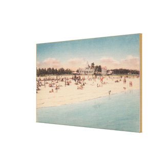 St. Petersburg, FL - Waterfront View of Canvas Print