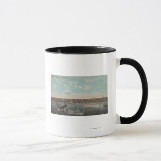 St. Petersburg, FL - Waterfront View with Mug