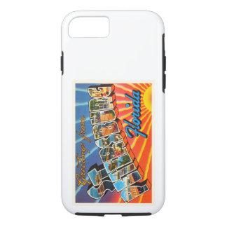 St Petersburg Florida FL Vintage Travel Souvenir iPhone 8/7 Case