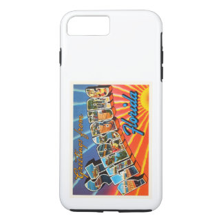 St Petersburg Florida FL Vintage Travel Souvenir iPhone 8 Plus/7 Plus Case