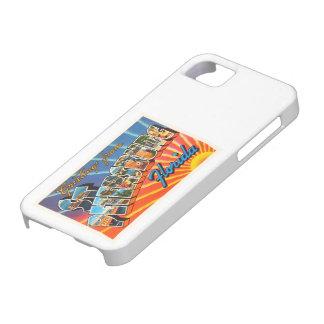 St Petersburg Florida FL Vintage Travel Souvenir iPhone SE/5/5s Case