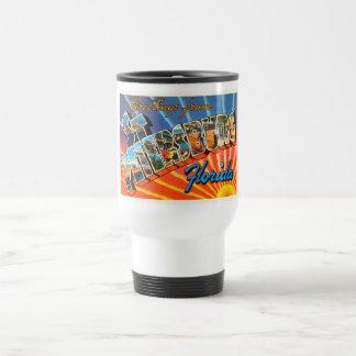 St Petersburg Florida FL Vintage Travel Souvenir Travel Mug