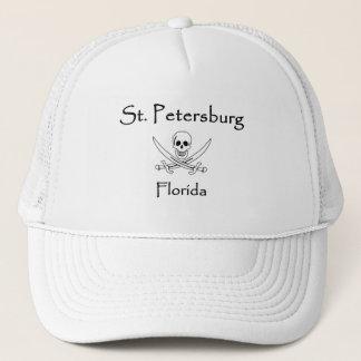 St. Petersburg Florida Jolly Roger Trucker Hat