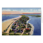 St. Petersburg Florida Pass A Grille Beach Greeting Card