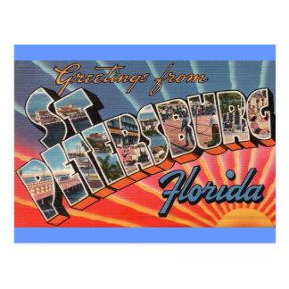 St. Petersburg Florida Postcard