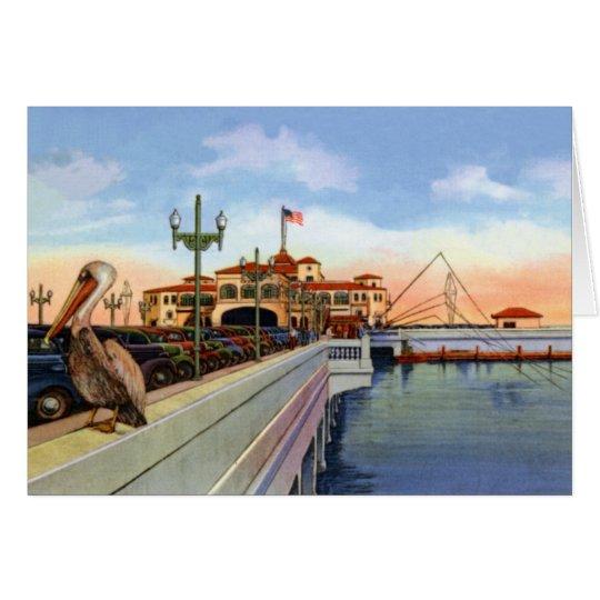 St. Petersburg Florida Recreation Pier Card