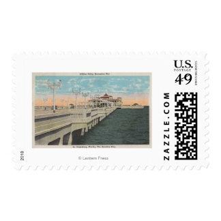 St. Petersburg, Florida - View of Million Dollar Postage