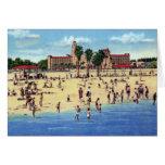 St. Petersburg Florida Vinoy Park Hotel Beach Greeting Card