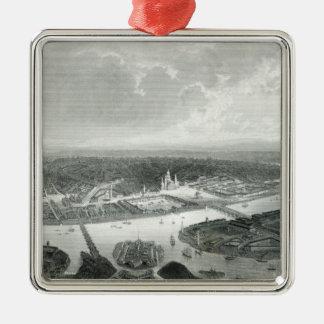 St Petersburg, grabado por S.Bradshaw, c.1860 Ornamentos Para Reyes Magos