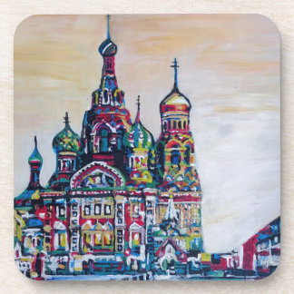 St Petersburg I Drink Coaster