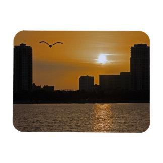 St Petersburg, imán de la puesta del sol de FL