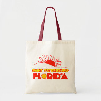 St Petersburg, la Florida Bolsas Lienzo
