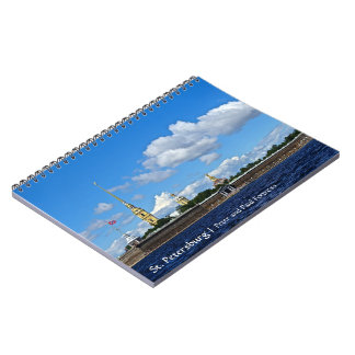 St. Petersburg, Peter and Paul Fortress Notebook