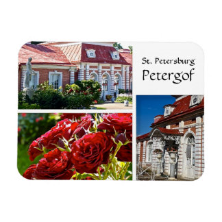 St. Petersburg, Petergof Rectangular Photo Magnet
