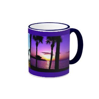 St Petersburg Pier - Day / Night Ringer Mug