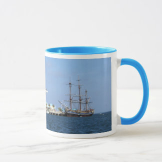 St Petersburg Pier & HMS Bounty Mug