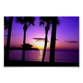 St Petersburg Pier - Sunset Poster