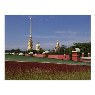 St. Petersburg, Russia Postcard