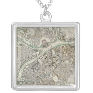 St Petersburg Silver Plated Necklace
