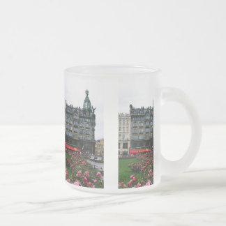 St. Petersburg, Singer House Frosted Glass Coffee Mug