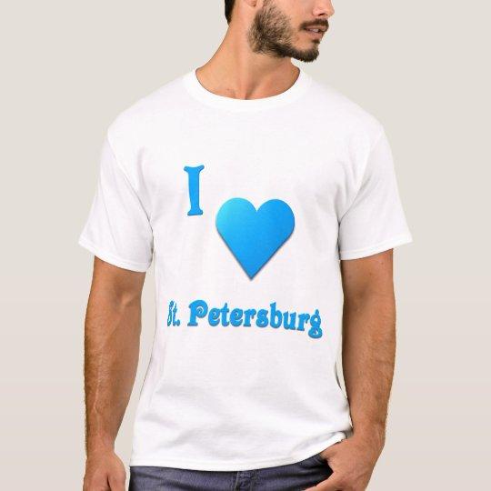 St. Petersburg -- Sky Blue T-Shirt