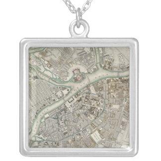 St Petersburg Square Pendant Necklace