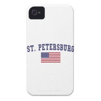 St. Petersburg US Flag iPhone 4 Cover