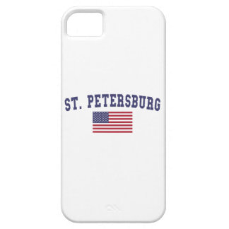 St. Petersburg US Flag iPhone SE/5/5s Case