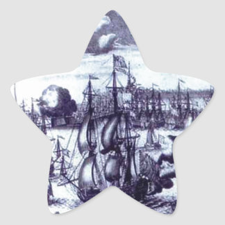 St. Petersburg. View of the Peter and Paul Fortres Star Sticker
