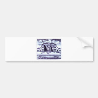 St. Petersburg. View of the Winter Palace of Peter Bumper Sticker