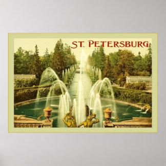 St. Petersburg ~ Vintage Travel Poster