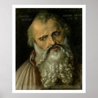 St Philip el apóstol, 1516 (aceite en lona) Impresiones