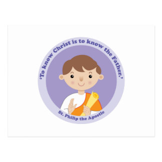 St Philip el apóstol Tarjeta Postal