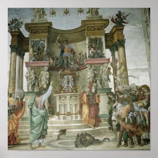 St. Philip Exorcising a Demon, c.1497-1500 Poster