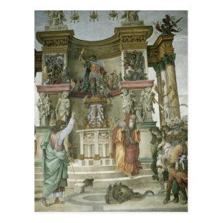 St Philip Exorcising un demonio, c.1497-1500 Postales